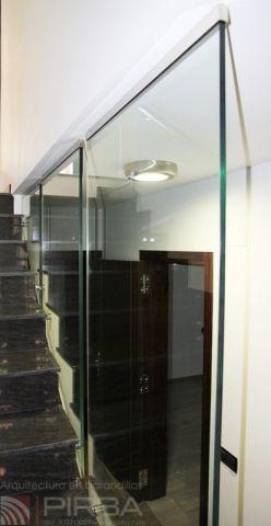 Barandas de cristal md vetro g1 01 carpinteria de - Barandas de cristal ...